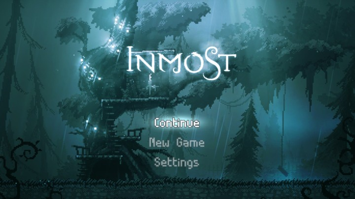 Inmost title screen (Nintendo Switch)